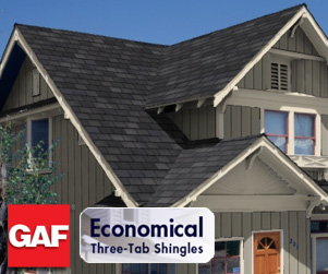 GAF Basic Three Tab Shingles